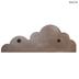 White Cloud Wood Wall Shelf - Large