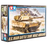 U.S. Main Battle Tank M1A2 Abrams Model Kit