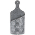 White Flower Galvanized Metal Wall Container - Large