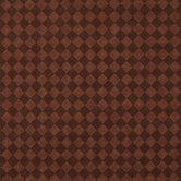 Brown Diamonds Print Cotton Calico Fabric