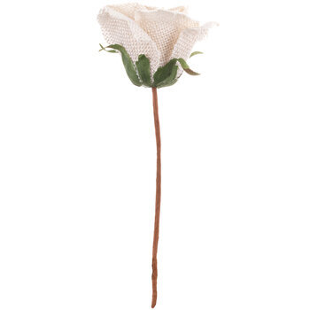 Burlap Rose Pick