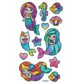 Mermaid Holographic Stickers
