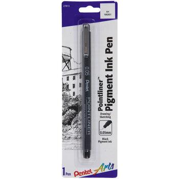 Black Pigment Ink Pen