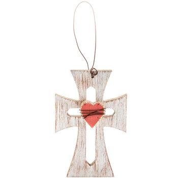 Heart Wood Cross