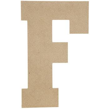 "Wood Letter F - 13"""