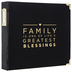 Black Family 3-Ring Scrapbook Album - 12