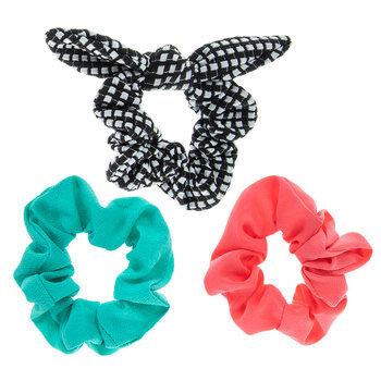Solid & Plaid Scrunchies