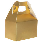 Mini Gold Gable Boxes