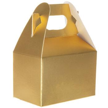 Mini Gold Gable Boxes