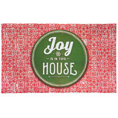 Joy In This House Patterned Doormat