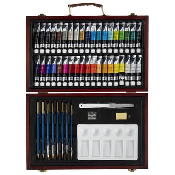 Acrylic Paint Set - 51 Pieces