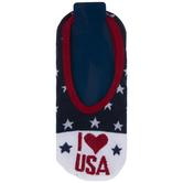 I Love USA Liner Socks