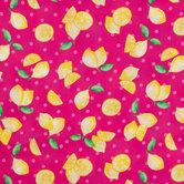 Lemon Dot Apparel Fabric