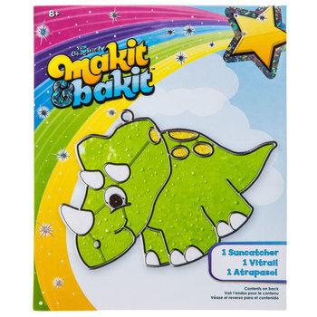 Dinosaur Makit & Bakit Suncatcher Kit