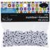 White & Black Plastic Number Beads