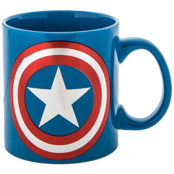 Blue Captain America Mug