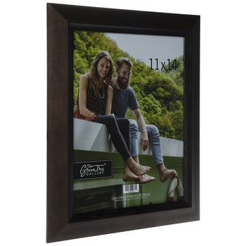 Brown Tapered Wood Wall Frame