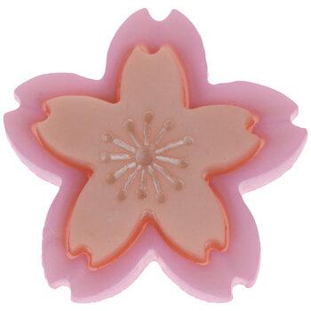 Pink & Peach Cherry Blossom Shank Buttons