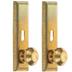 Miniature Brass Door Knobs With Keys