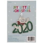 2020 Snowman Monogram Ornament
