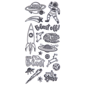 Outta This World Clear Stamps