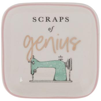 Scraps Of Genius Square Pin Dish