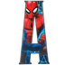 Superhero Letter Metal Sign - A