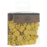 Yellow Smile Beads