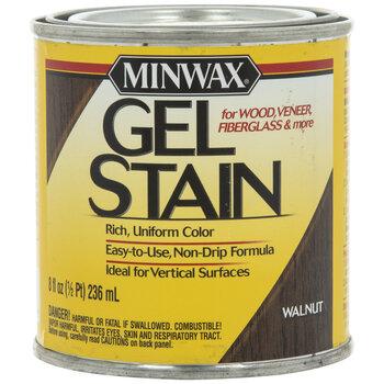 Walnut Minwax Gel Stain