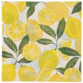 Lemons, Leaves & Slices Napkins - Large