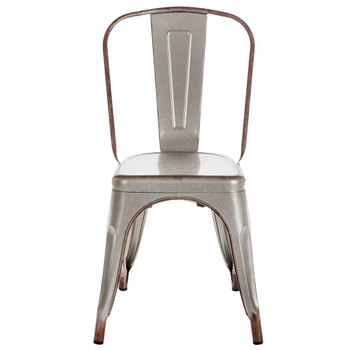 Galvanized Metal Chair