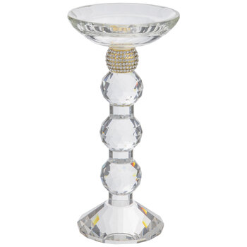 Crystal & Gem Candle Holder