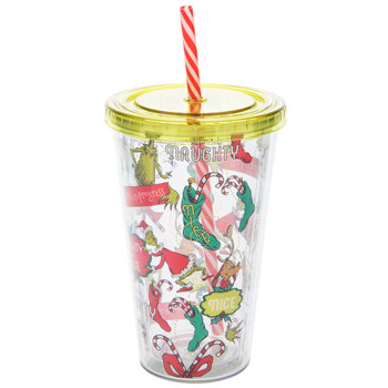 Naughty Or Nice Grinch Cup