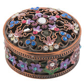 Floral Jewelry Box