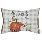 Fall Sweet Fall Pumpkin Pillow