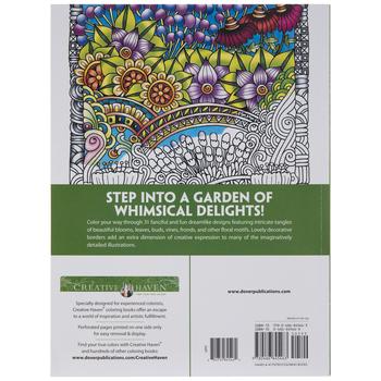 Entangled Gardens Coloring Book