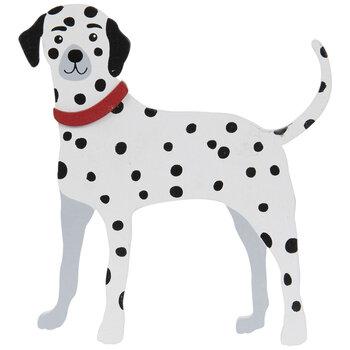 Dalmatian Dog Painted Wood Shape