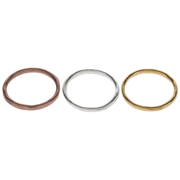 Mixed Color Stacking Rings - Size 8