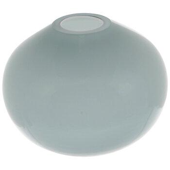 Blue Ombre Round Glass Mini Vase