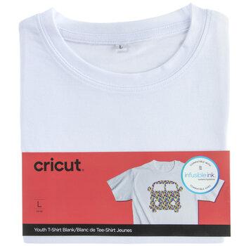 White Cricut Youth T-Shirt