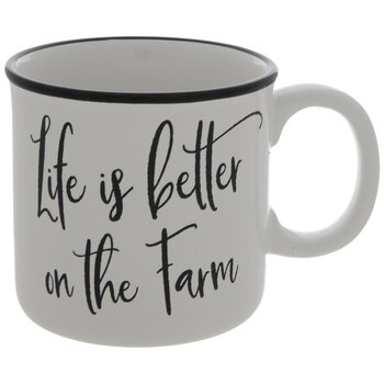 Life Is Better On The Farm Mug