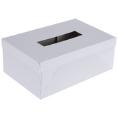 White Paper Valentine Box