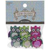 Owl Shank Buttons
