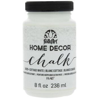 Cottage White Home Decor Chalk Paint - 8 Ounce