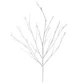 White Glitter Branch