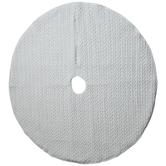 White Knit Velvet Tree Skirt