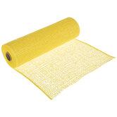 "Yellow Deco Mesh Ribbon - 10"""