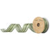 Imitation Aspid Wired Edge Satin Ribbon - 1 1/2