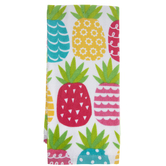 Multi-Color Pineapples Kitchen Towel
