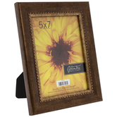 "Bronze Beaded Trim Frame - 5"" x 7"""